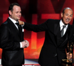 "Howard Gordon (Right) and Gideon Raff (Left) accepting Outstanding Dramatic Series Emmys for ""Homeland"", courtesy of http://www.deadline.com/2012/12/fx-orders-drama-pilot-from-homelands-howard-gordon-gideon-raff-craig-wright/"